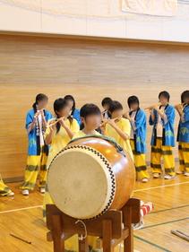 大槌町震災アーカイブ吉里吉里中学郷土芸能発表会が開催